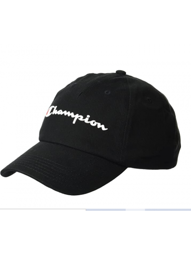 Champion Men's Ameritage Dad Adjustable Cap- Black