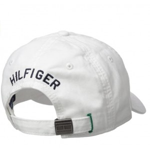 Tommy Hilfiger Men's Ardin Dad Hat- White