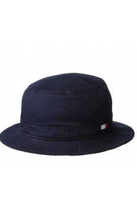 Tommy Hilfiger Men's Ardin Bucket Hat- Sky Captain
