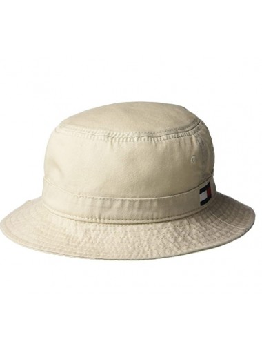 Tommy Hilfiger Men's Ardin Bucket Hat- Stone