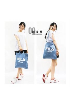 [新款出爐] 超人氣! FILA - Two Ways Tote Bag 兩用袋 - DENIM