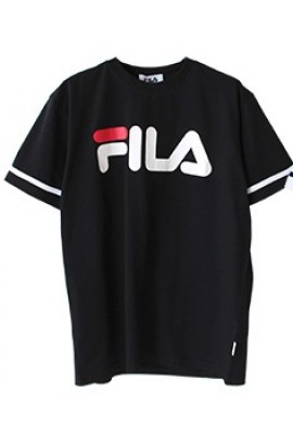 FILA Large Logo Tee - Black