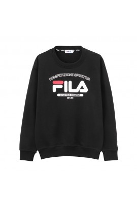 FILA Atletica Italiana Logo Sweater - Black