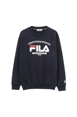 FILA Atletica Italiana Logo Sweater - Navy