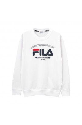 FILA Atletica Italiana Logo Sweater - White