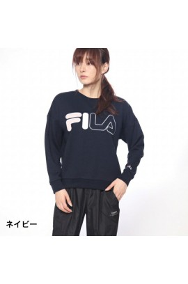 FILA Logo Sweater - Navy