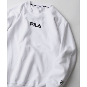 FILA Logo Sweat Shirt - White