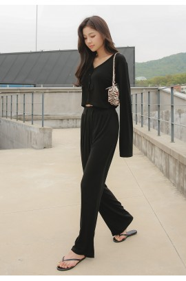 Friday's Vibes  Sugar bootcut trousers