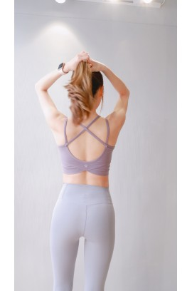 Friday's Vibes T01-Crossing Bra Top