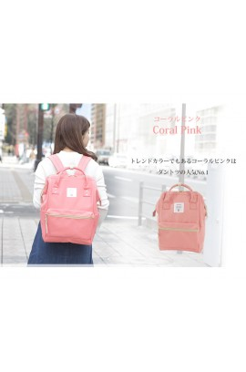 Anello - Anello Backpack 經典背囊 - Coral Pink