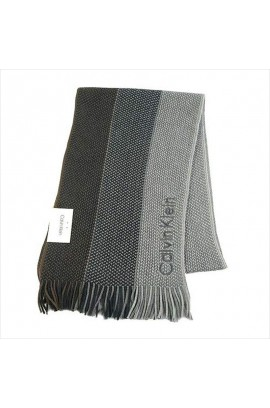 Calvin Klein Woven Triple Color Scarf  - Grey