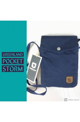 [新系列! ] Kanken by Fjallraven - Greenland Pocket Bag - Storm