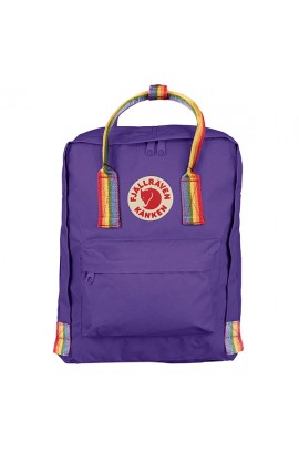 Fjallraven Kanken Rainbow - Purple / Classic