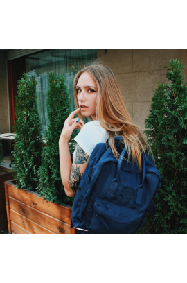 Fjallraven RE-Kanken Classic - Midnight Blue