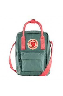 Fjallraven Kanken Sling Cross Body Bag – Frost Green Peach Pink