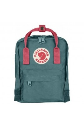 Fjallraven Kanken Mini - Frost Green Peach Pink