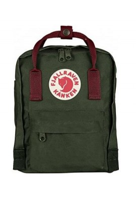 Fjallraven Kanken Mini - Forest Green Ox Red