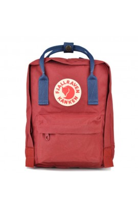 [番貨喇!] Fjallraven Kanken Mini - Ox Red Royal Blue