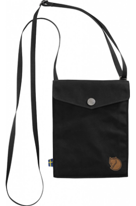 Kanken by Fjallraven - Pocket Shoulder Bag - Black
