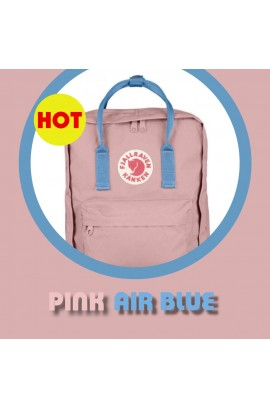Fjallraven Kanken –  Pink / Air Blue