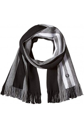 [人氣商品] Fred Perry Block Stripe Raschel Scarf
