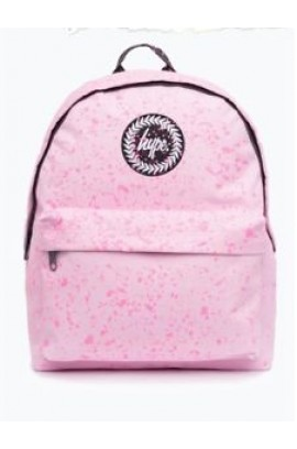 Hype Backpack  - Pink With Pink Speckles Backpack