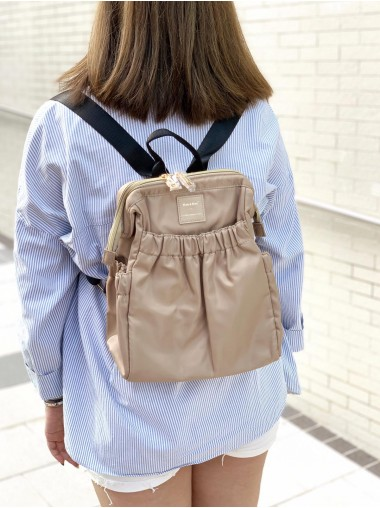 KnK ISA Mini Backpack- Khaki