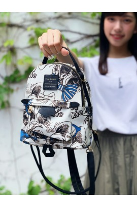 KnK Sweety Mini Backpack- Graphic Blue
