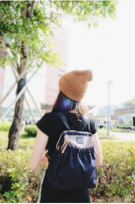 KnK ISA Mini Backpack- Denim
