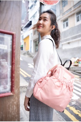 KnK ISA Mini Backpack- Rose Pink