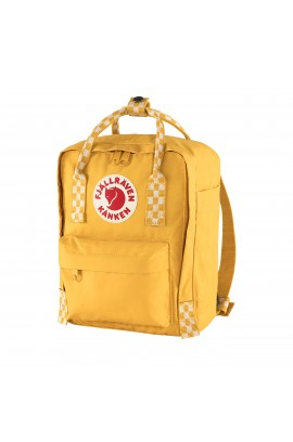 Fjallraven Kanken Mini - Ochre Chess Pattern