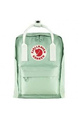 Fjallraven Kanken Mini - Mint Green/ Cool White