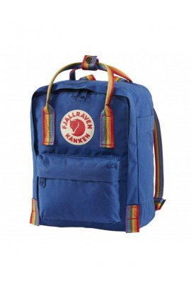 Fjallraven Kanken Mini - Deep Blue Rainbow Pattern
