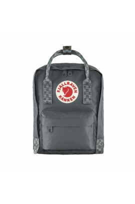 Fjallraven Kanken Mini - Super Grey Chess Pattern