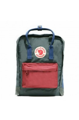 Fjallraven Kanken –  SMU Forest Green Ox Red