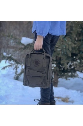 Fjallraven RE-Kanken Classic - Dark Olive