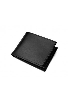Calvin Klein Smooth Leather RFID Wallet - Black