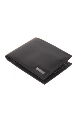 [有散紙位] Calvin Klein Billfold with coin case - Black