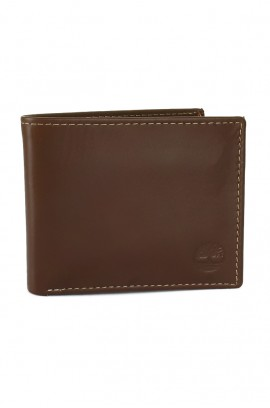 [本週限定激安價] [經典製靴皮] Timberland Men's leather Wallet - Classic Brown Leather