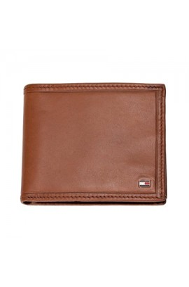 Tommy Hilfiger - Men's Multi Card Passcase/ Tan