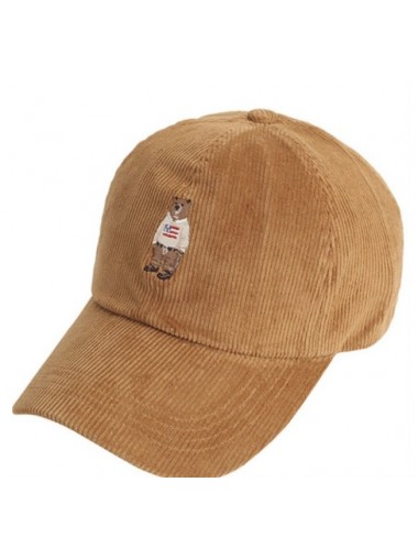 WHO A.U Steve Baseball Cap - Brown
